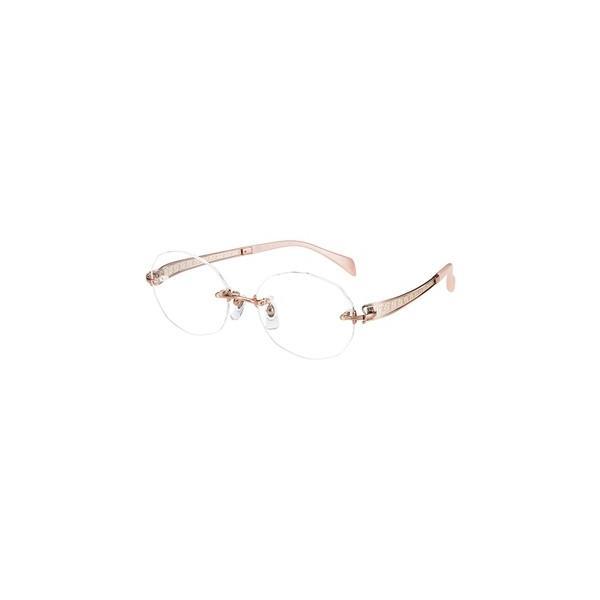 メガネ 眼鏡 めがねフレーム Line Art ラインアート シャルマンレディースメガネフレーム ヴィヴァーチェコレクション XL1622-RG