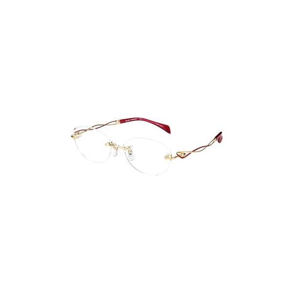 メガネ 眼鏡 めがねフレーム Line Art ラインアート シャルマンレディースメガネフレーム メヌエットコレクション XL1638-RE