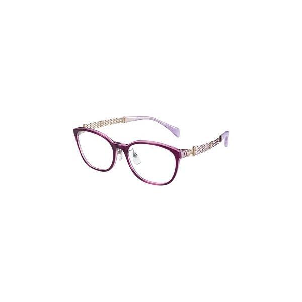 メガネ 眼鏡 めがねフレーム Line Art ラインアート シャルマンレディースメガネフレーム オペラコレクション XL1645-PU