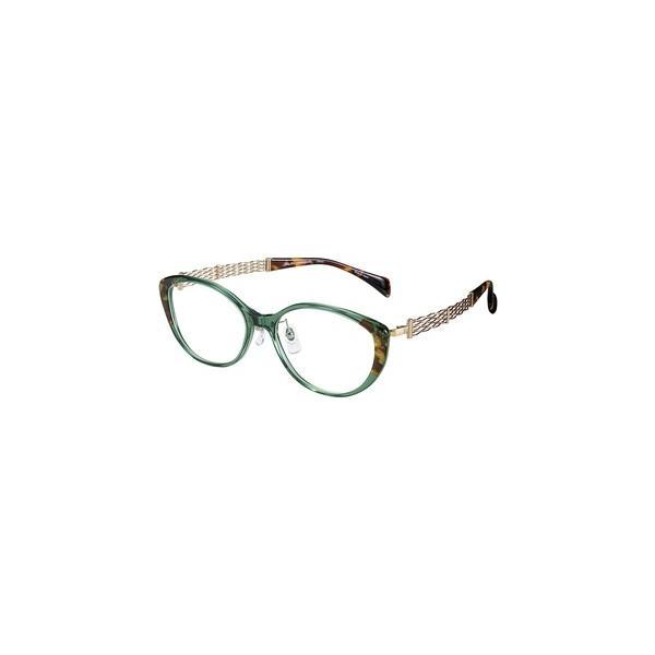 メガネ 眼鏡 めがねフレーム Line Art ラインアート シャルマンレディースメガネフレーム オペラコレクション XL1646-GN