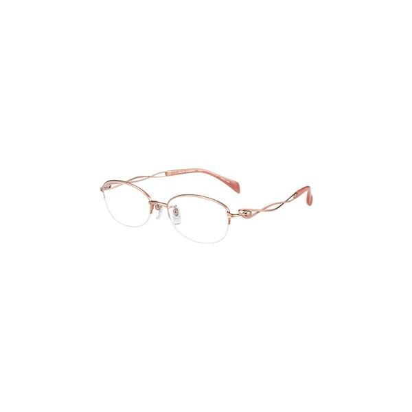 メガネ 眼鏡 めがねフレーム Line Art ラインアート シャルマンレディースメガネフレーム メヌエットコレクション XL1650-RG