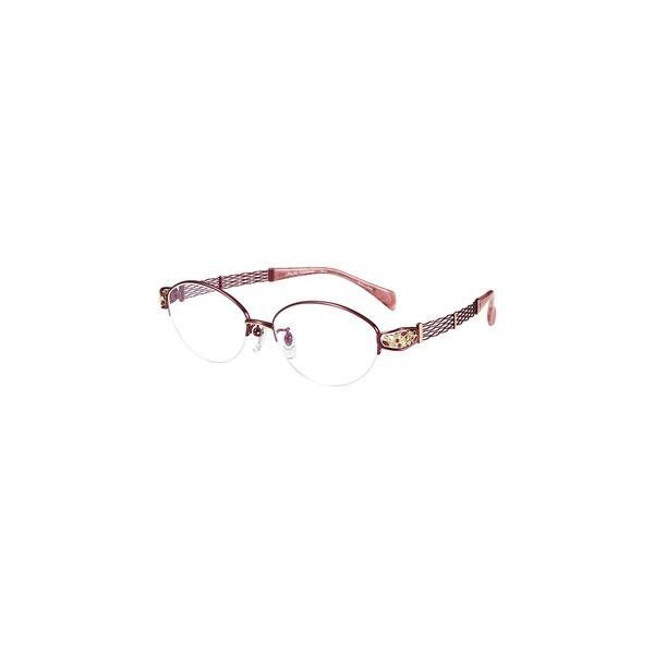 メガネ 眼鏡 めがねフレーム Line Art ラインアート シャルマンレディースメガネフレーム オペラスワロスキーコレクション XL1653-RE