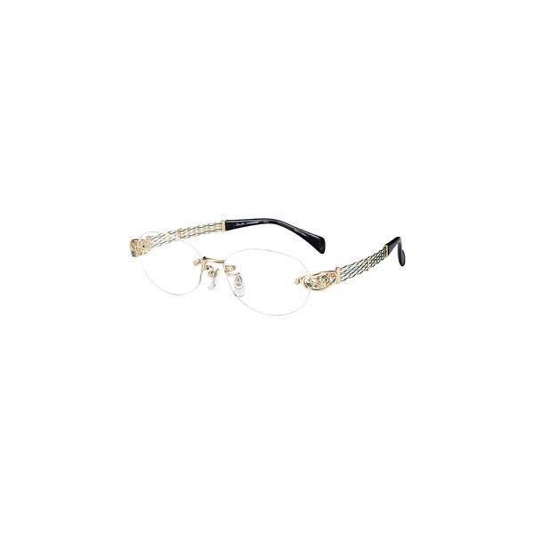 メガネ 眼鏡 めがねフレーム Line Art ラインアート シャルマンレディースメガネフレーム オペラスワロスキーコレクション XL1654-GN
