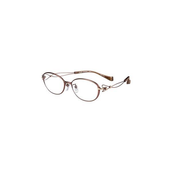 メガネ 眼鏡 めがねフレーム Line Art ラインアート シャルマンレディースメガネフレーム ドルチェコレクション XL1659-BR