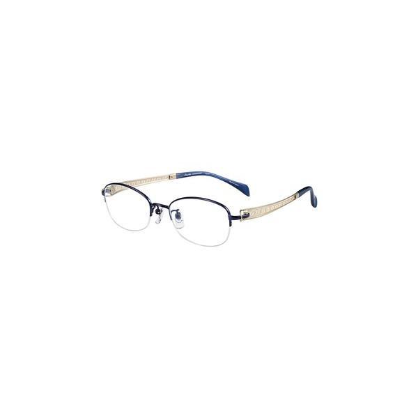 メガネ 眼鏡 めがねフレーム Line Art ラインアート シャルマンレディースメガネフレーム ヴィヴァーチェコレクション XL1662-BL