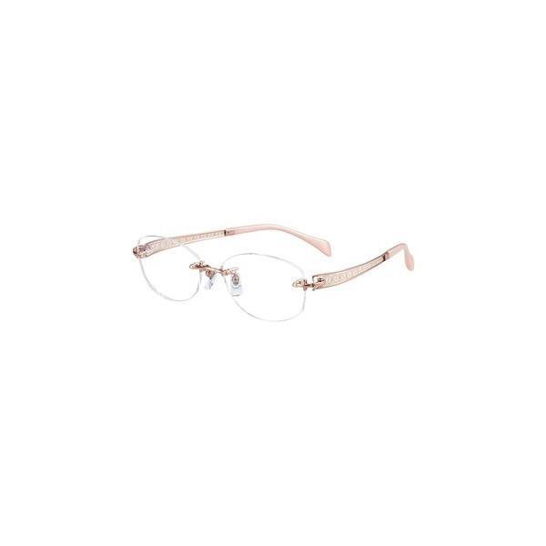メガネ 眼鏡 めがねフレーム Line Art ラインアート シャルマンレディースメガネフレーム ヴィヴァーチェコレクション XL1663-RG