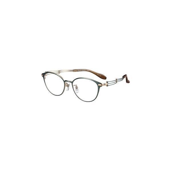 メガネ 眼鏡 めがねフレーム Line Art ラインアート シャルマンレディースメガネフレーム トリオコレクション XL1664-GN