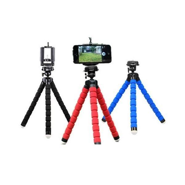 くねくね三脚 スマホ用三脚 デジカメ デジタルカメラ 三脚 iphone スタンド ホルダー iphone6 iphone7 iphone8 plus 卓上ホルダー スマートフォン 汎用ホルダー