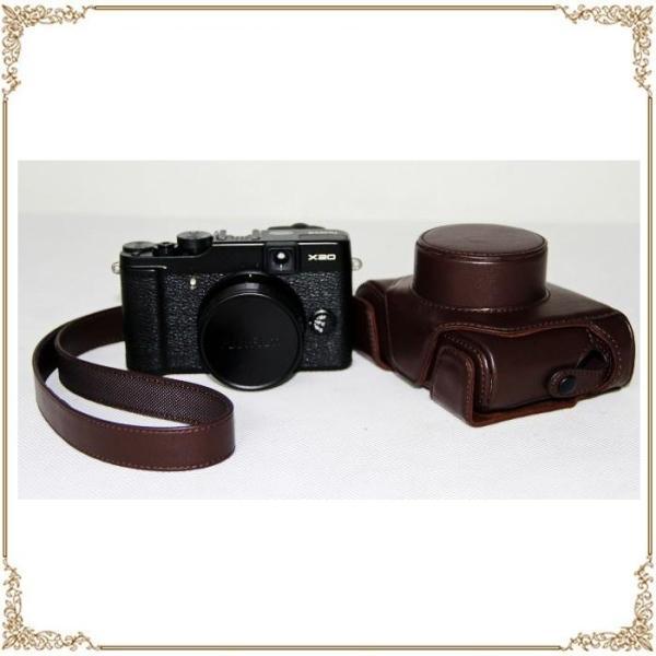 FUJIFILM X100F ケース X100 カメラケース X100S カメラバック X100T バック カバー レザーケース 一眼 一眼レフ デジカメ 合成革 富士フイルム デジタルカメラ