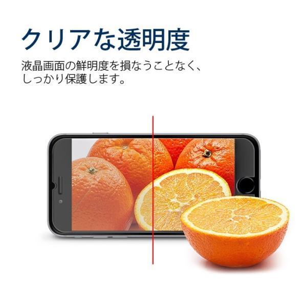 iphone 9H 0.33mm 強化 ガラスフィルム iphone X iphone8 plus iphone6 Plus iphone7 保護フィルム 液晶保護 指紋防止 キズ防止 smartno1 03