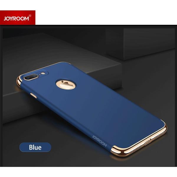iPhone7 ケース カバー ガラスフィルム 付き iPhone7Plus iPhone8 iPhone8Plus おしゃれ iPhone 8 7 Plus 耐衝撃 アイホン7 アイフォン7 プラス JoySlimCase BL smartno1 09