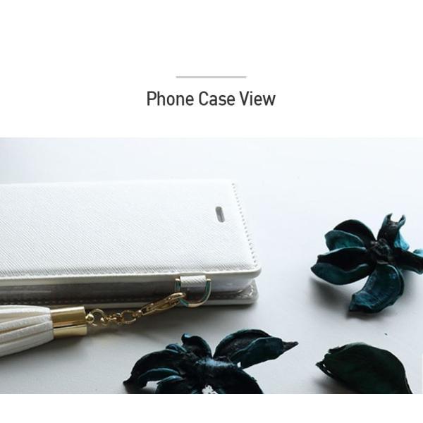 Galaxy S9 SCV38 ケース 手帳型 カバー フィルム 付き GalaxyS9 sc02k 手帳 手帳型ケース スマホケース ギャラクシーs9 おしゃれ TASSLEFLIP RED smartno1 05