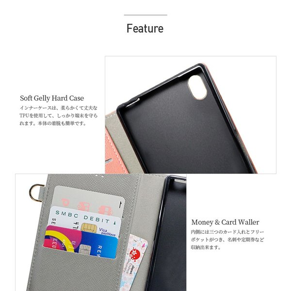 Galaxy S9 SCV38 ケース 手帳型 カバー フィルム 付き GalaxyS9 sc02k 手帳 手帳型ケース スマホケース ギャラクシーs9 おしゃれ TASSLEFLIP RED smartno1 07