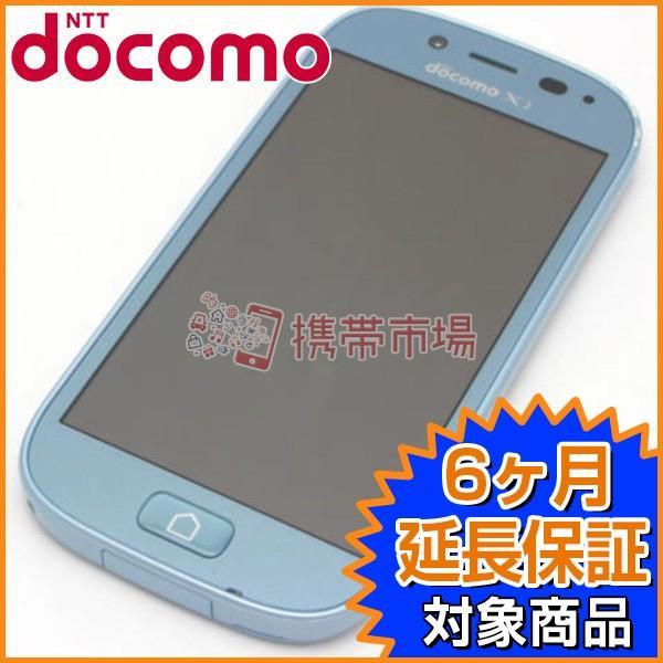 らくらくスマートフォン 3 F-06F 8GB エアーブルー docomoの画像
