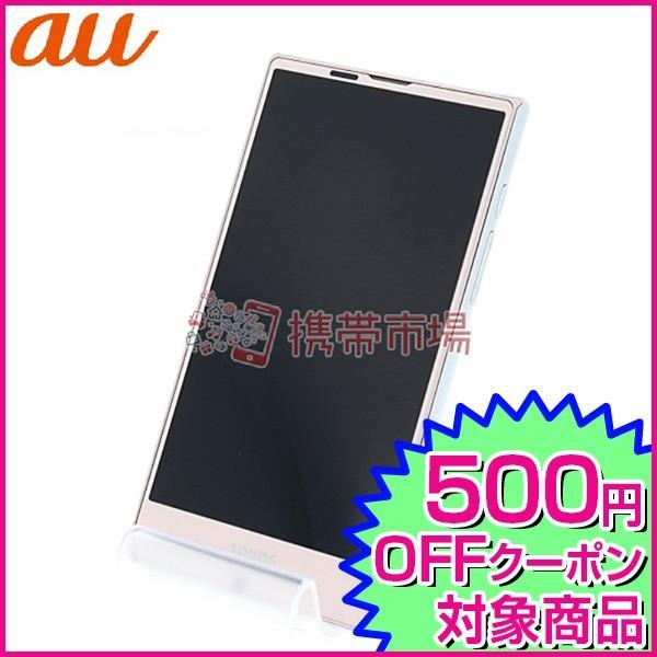 AQUOS PHONE 32GB ピンク auの画像