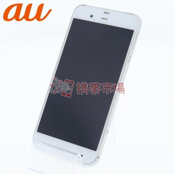 AQUOS PHONE 6GB ホワイト auの画像