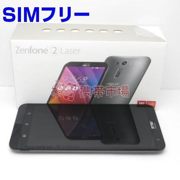 ZenFone 2 Laser (ZE500KL) 8GB グレー SIMフリーの画像