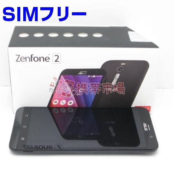 ZenFone 2 (ZE551ML) (RAM2GB) 32GB ブラック SIMフリーの画像