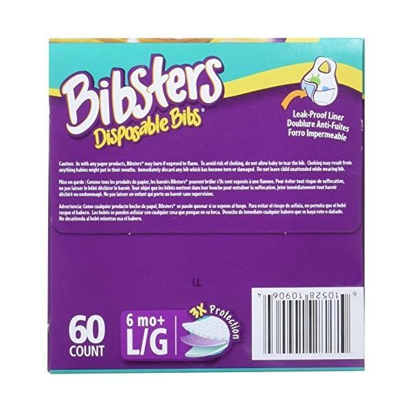 使い捨て防水加工よだれかけ60枚入 ビブスターSESAME STREET (クッキーモンスター) smile-box 05
