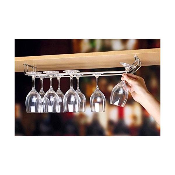 (サーカス) CURCUS ワイングラス ホルダー 吊り下げ ラック ワイングラスホルダー 壁掛け  ワインストッパー セッ|smile-box|02