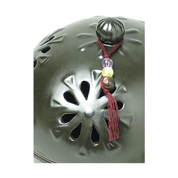 丸和貿易 アジアンテイスト クレマチス 陶器の蚊遣り 013398|smile-box|04
