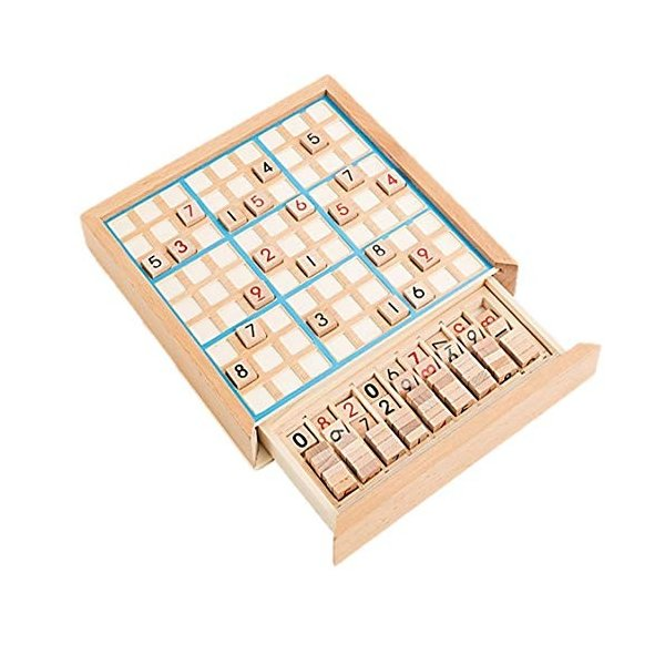 数独 すうどく 脳トレ 卓上 ボード ゲーム 9ブロックパズル 知育 玩具 パズル 木製 ナンプレ ナンバープレース
