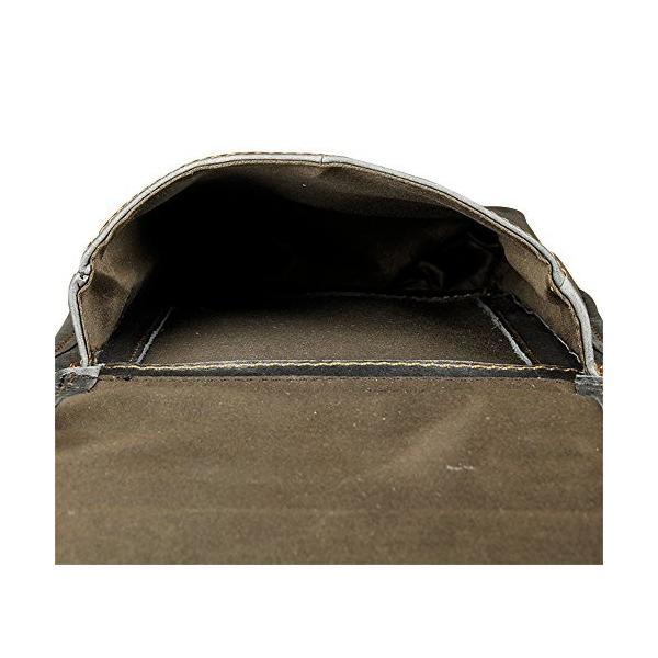 Genda 2Archer(JP) ウエストバッグ メンズ 本革 リベット ショルダーバッグ レザー 縦型 ベルトポーチ スマホ 革 レ|smile-box|04