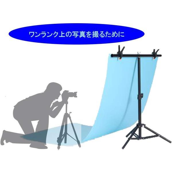 【iMakim's】 背景スタンド 小型 写真 商品撮影 背景紙 オークション 出品 小物 三脚|smile-box|02