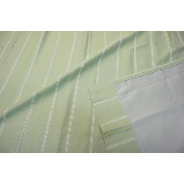 カーテン 厚地 遮光 緑系 カジュアル 形状記憶 ウォッシャブル|smile-curtain|05
