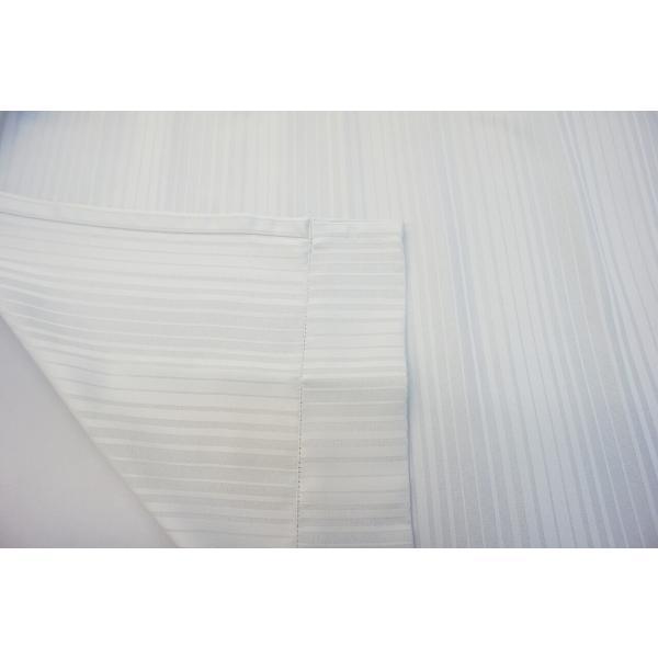 カーテン 厚地 遮光 白系 ストライプ 形状記憶 ウォッシャブル|smile-curtain|05
