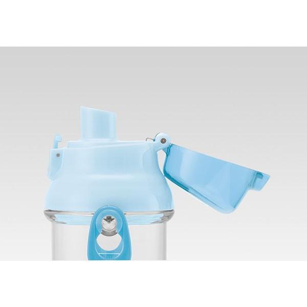 すみっコぐらし 子供用 水筒 / 食洗機対応 直飲み プラ製 ワンタッチクリアボトル 480ml すみっコおべんきょう|smile-hg|04
