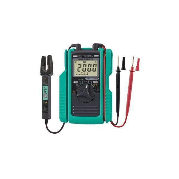 平日15時当日 共立電気計器KEWMATE2000AAC/DCクランプ付デジタルマルチメータ