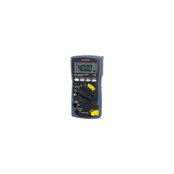 三和電気計器 デジタルマルチメータ 新スタンダード CD770