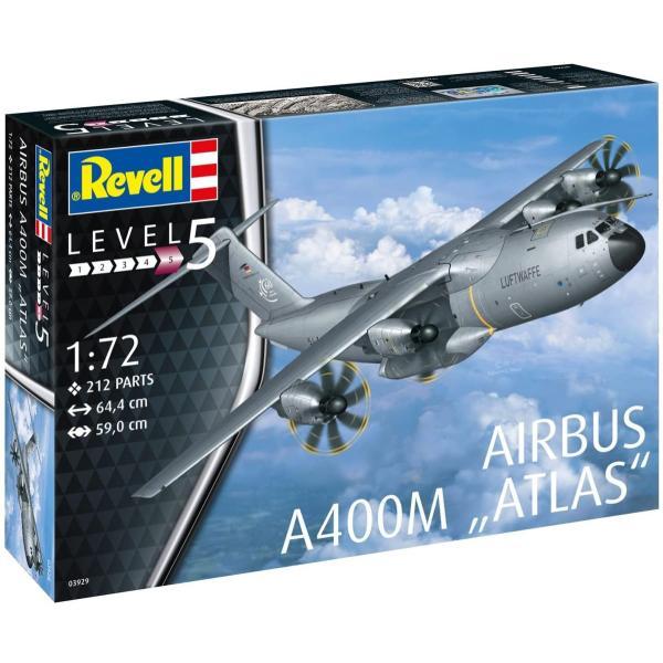 ドイツレベル 1/72 エアバス A400M ルフトヴァッフェ プラモデル 03929 smile-labo 11