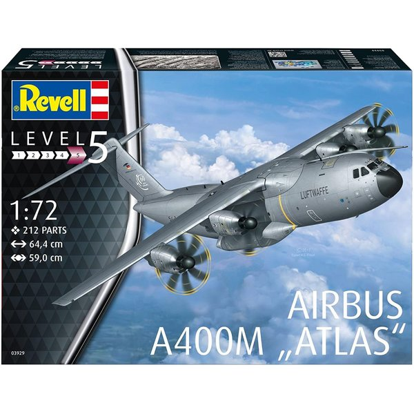 ドイツレベル 1/72 エアバス A400M ルフトヴァッフェ プラモデル 03929 smile-labo 12