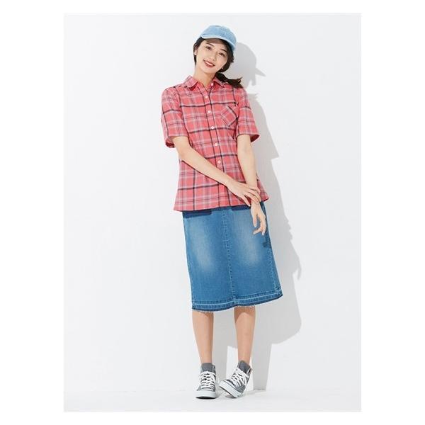 大きいサイズ レディース L-10L ストレッチWガーゼシャツ トップス  大きなサイズ 30代 40代 50代 女性 春 夏 着痩せ 体型カバー|smile-land-by-nissen|04