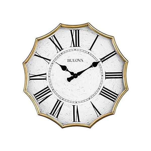 BulovaC4114ビクトリア朝壁掛け時計アンティークゴールド