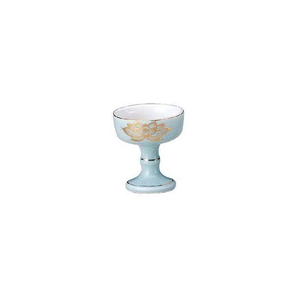 陶器 仏飯器 (仏器) 全宗派共通 【小】(bg97-2-1)