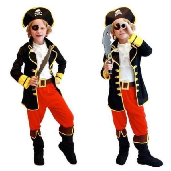 ecaa2dc4b8cb0e ハロウィン 衣装 子供 海賊 コスプレ 子供用 男の子 海賊服 コスチューム ハロウィン コスプレ 海賊 キッズ 子ども