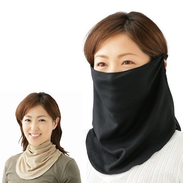 すっぴん日よけカバー フェイスカバー フェイスマスク 日焼け防止 顔 日焼け対策 紫外線カット UVカット レディース 紫外線対策 メール便 送料無料 smilecube