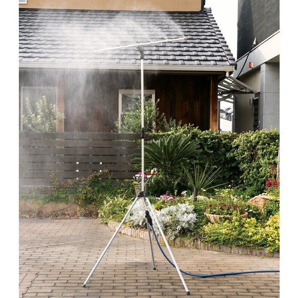 ミストdeクールシャワー スタンドビッグ ミストシャワー 屋外用 熱中症 散水機 ガーデニング 送料無料