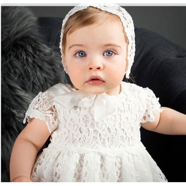c02619855e98b ... ベビードレス セレモニードレス お宮参り 新生児 ベビー 2点セット 帽子セット ワンピース|smilegirls ...