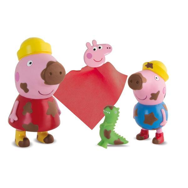 Peppa Pig どろんこ洗おう♪ペッパとジョージ|smilehometen