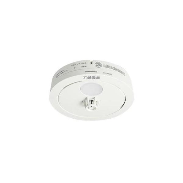 住宅用火災警報器 (熱式火災報知器)パナソニック 熱当番薄型 電池有・移報無 SHK48155(SHK38155後継機種)