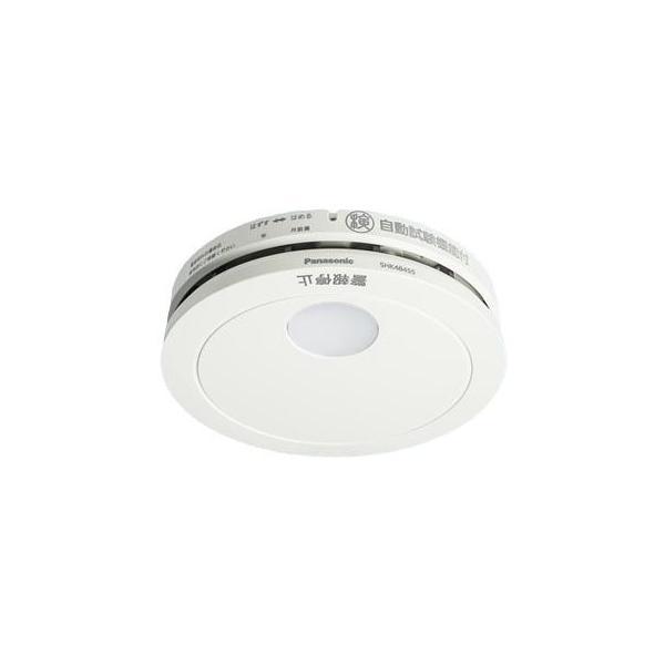 住宅用火災警報器(煙式火災報知器)パナソニック煙当番薄型電池有・移報無SHK48455(SHK38455後継機種)