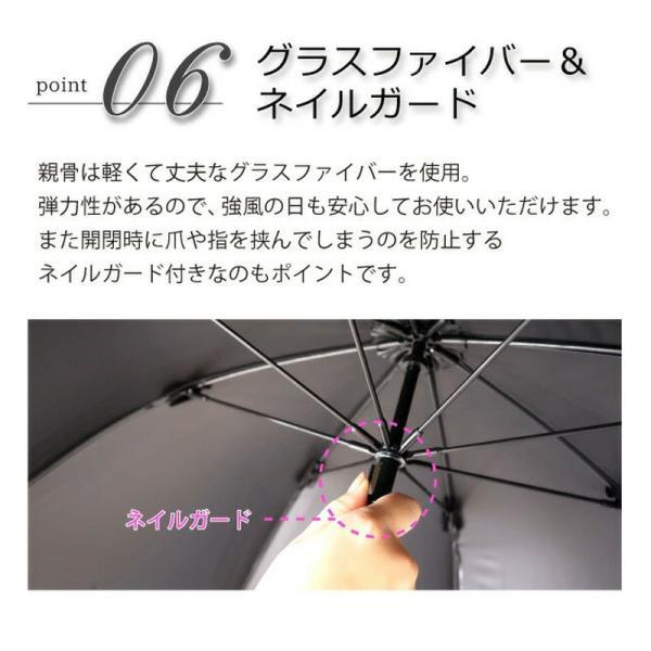 日傘 完全遮光 100% 折りたたみ 遮光 スター フリル 無地 ピンクトリック pink trick ブラック ネイビー シンプル おしゃれ おすすめ|smileme|11