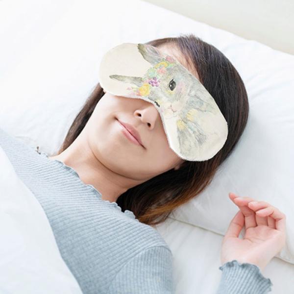 アロマホット&クールアイピロー アニマル 温冷対応 睡眠 アニマル 香り袋付き 動物 かわいい イラスト 快眠 年中使える|smileme|02
