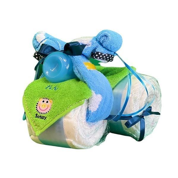 おむつケーキ スヌーピー ぬいぐるみ オムツケーキ 名入れ 出産祝い 内祝い 男 女|smilepoppop|18