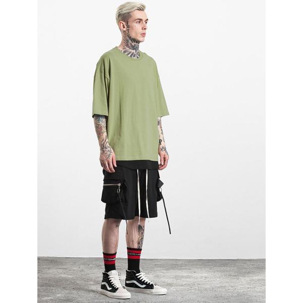 SALE セール Tシャツ 半袖 無地 メンズ レディース ティーシャツ ドライTシャツ 薄手 吸汗速乾 トレーニング スポーツ 大きいサイズ オーバーサイズ シンプル|smilepuraza|05