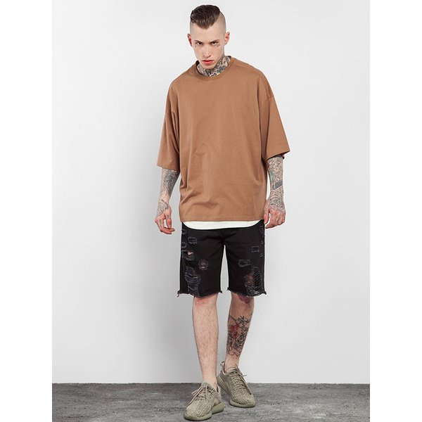 SALE セール Tシャツ 半袖 無地 メンズ レディース ティーシャツ ドライTシャツ 薄手 吸汗速乾 トレーニング スポーツ 大きいサイズ オーバーサイズ シンプル|smilepuraza|07